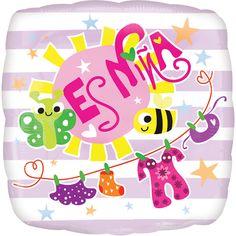 #Variedad de #Globos para #Nacimiento de #Nena y #Nene!!