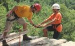Outdoor Adventure Camp with white water river rafting, tubing, kayaking, canoeing, biking | Outdoor Adventure Camp