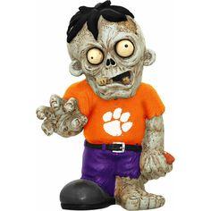 Clemson Zombie Figurines