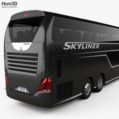 Neoplan Skyliner Bus 2015 model - Vehicles on Busses, Fashion Show Collection, Comic, Trucks, 3d, Cars, Vehicles, Model, Miniature
