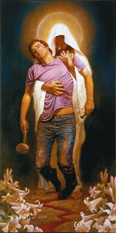 Powerful image!  I can relate to this image cause I know without God I couldn't get through life.