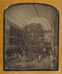 John Jabez Edwin Mayall (British, 'The Crystal Palace at Hyde Park, London' 1851 Crystal Palace, Hyde Park London, Google Art Project, Palace London, Getty Museum, Up Book, Le Palais, Daguerreotype, Expositions