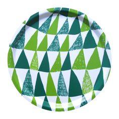 Image of Kuusikko Tray / Tarjotin Silk Painting, Surface Pattern, Scandinavian Design, Textile Art, Fiber Art, Paint Colors, Pattern Design, Print Patterns, Poster Prints