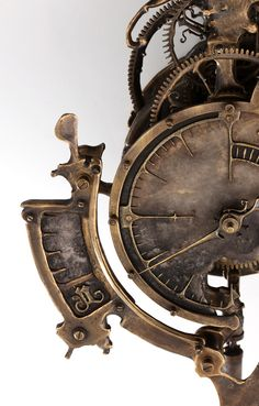 Another mechanical wonder by Eric Freitas.  Love his art.
