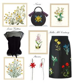 """""""Botanical"""" by glamheartcafe ❤ liked on Polyvore featuring Frontgate, STELLA McCARTNEY and Louis Vuitton"""