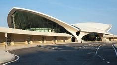 "TWA Terminal - Eero Saarinen I piece of history taken away by ""Big Business"" and Greed!! Good Memories with TWA!"