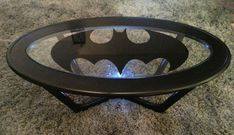 Batman tables! Badass, right? Sadly, you won't be able to purchase many of the tables below. But, for a few bucks at the thrift store and in art supplies, you can make your very own.  To fuel your inspiration, I've included several different styles. Just grab a stencil and you're half way there.   If you do make one, send me a pic and I'll share it!    source     source    source        source    source    source    source    source    source    source   Never miss an awesome post! Enter…