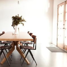 Captivating Cross Extending Dining Table By Matthew Hilton