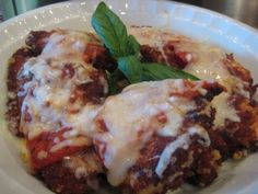 "I just made this ""Olive Garden Chicken Parm"" and it was AMAZING!!!! It DEF has the Beezo Seal of Approval!!! WOW!!!!!"