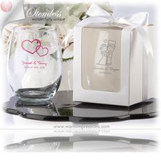 Wedding Favors Bridal Favors Party Favors Personalized Stemless Wine Glass Favors Gifts - 71% OFF - 13045BL - Cheap Wedding Favors - Cheap Bridal Shower Favors - Cheap Party Favors - http://www.warmimpressions.com/WEDDING_FAVORS/Personalized-Stemless-Wine-Glass-Favors-kate-aspen-30009NA.html  large 2