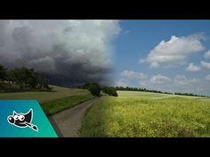 GIMP Tutorial: Rain Storm Effect - YouTube