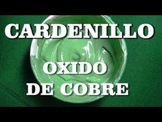 Curso de pintura clase 2ªA COMO HACER VEDIN, CARDENILLO PARA COBRE - SEC...