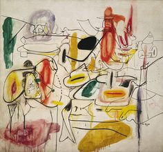 Collection Online | Arshile Gorky. Untitled. summer 1944 - Guggenheim Museum