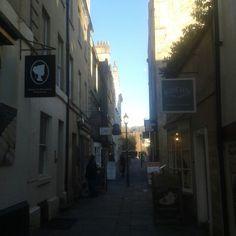 Off to sally lunn's.Bath