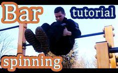 Tutorial #13 Freestyle Tricks#2 Bar Spinning Tutorial / kręcenie na drążku