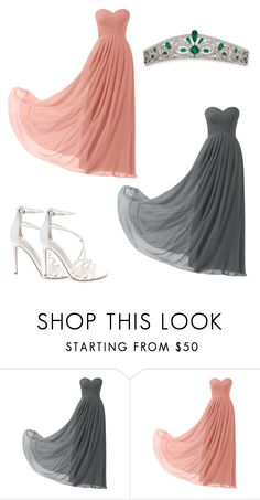 """""""Brook and Liz, Matching Outfit 1"""" by fangirling0ver-lae ❤ liked on Polyvore featuring Remedios and Steve Madden"""