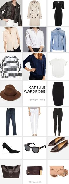 awesome How to Build an Ethical and French Capsule Wardrobe by http://www.danafashiontrends.us/french-fashion/how-to-build-an-ethical-and-french-capsule-wardrobe/