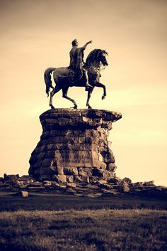 The Copper Horse statue, Windsor Great Park