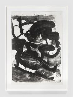 Willem de Kooning - Untitled (Large Sumi Brushstrokes), Print For Sale at 1stdibs