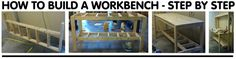 build workbench - step by step instructions
