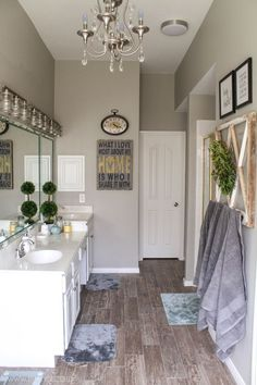 Beautiful Master Bathroom Makeover