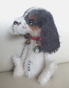 Brandy the Cavalier pup by Ragtail n Tickle
