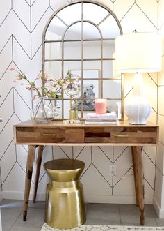 What You Don't Know About Entryway Decor Small Entrance 39 - nyamanhome Mirrored Floating Shelves, Entryway Decor, Entryway Tables, Console Tables, Small Entrance, Entrance Hall, Feminine Decor, Small Entryways, Entry Way Design