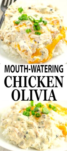 OLIVIA A creamy delicious chicken dinner made easy by using a rotisserie chicken. - A creamy delicious chicken dinner made easy by using a rotisserie chicken. Meat Recipes, Dinner Recipes, Cooking Recipes, Healthy Recipes, Game Recipes, Pasta Recipes, Cheeseburger Pie, Yum Yum Chicken, Recipes