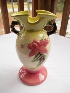 Hull Pottery Woodland Vase
