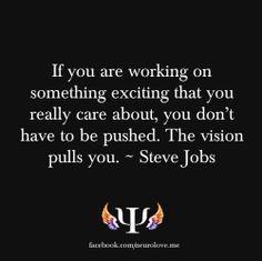 vision - Steve Jobs