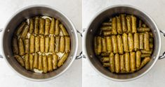 These Lebanese Stuffed Grape Leaves are made with a spiced ground beef and rice mixture - a delicious Mediterranean dish commonly served as an appetizer! Lebanese Chicken, Stuffed Grape Leaves, Middle Eastern Dishes, Beef And Rice, Lebanese Recipes, Mediterranean Dishes, Food Network Recipes, Ground Beef, Healthy Snacks