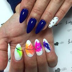 WEBSTA @ lessi_po - #spnnails#nailsart