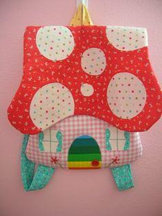 mushroom backpack