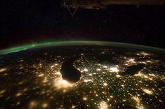 Earth/lights