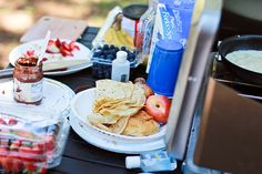 Crepes for camping