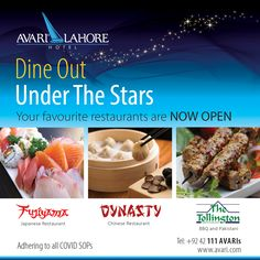 Dine Out Under The Stars Chinese Restaurant, Under The Stars, Hotel Offers, Your Favorite, Bbq, Dining, Barbecue, Food, Barrel Smoker