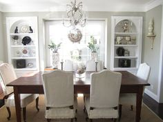slipped dining room chairs