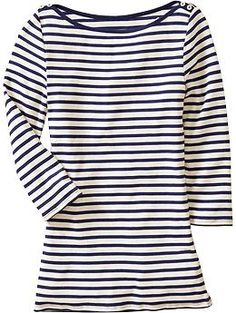 Image result for Old Navy Boatneck Tee