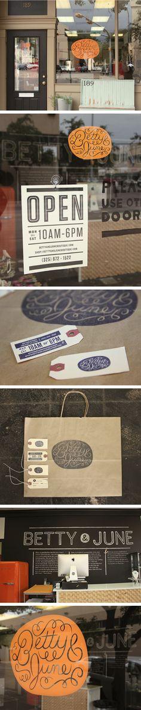 Betty & June by Ryan Feerer #identity #packaging #branding PD