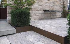 kaminholzregal bausatz edelrost ma e 158x158cm tiefe 35cm. Black Bedroom Furniture Sets. Home Design Ideas
