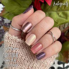 Classy Nails, Cute Nails, Pretty Nails, Nail Color Combos, Nail Colors, Easter Color Nails, Nail Polish Designs, Nail Designs, Sensational Nails