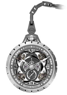 """Roger Dubuis Excalibur Spider Pocket Watch Time Instrument - by Rob Nudds """"It is very unusual to look at a piece of such undeniable quality as the Roger Dubuis Excalibur Spider Pocket Time Instrument and find a number of more critical points sooner than anything else – but I guess this example is one that I will remember as proof that first impressions can be misleading..."""""""