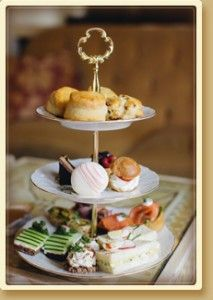 Afternoon Tea at the Montage Beverly Hills