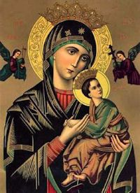 Feast of Our Lady of Perpetual Help.  June 27.
