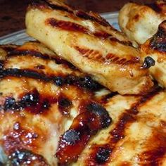 Honey Mustard Grilled Chicken | #grilling #chicken #dinner