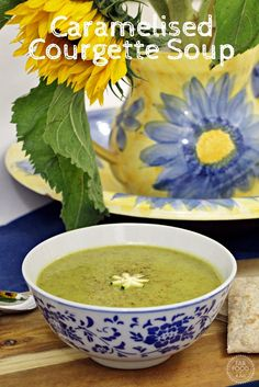 Caramelised Courgette Soup has a beautiful depth of flavour! - Fab Food 4 All
