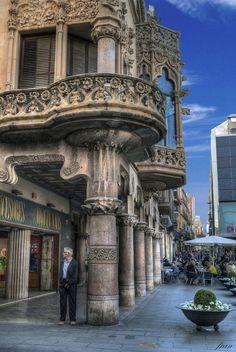 La Casa Navàs (Reus) una maravilla del arte modernista., Tarragona Catalonia