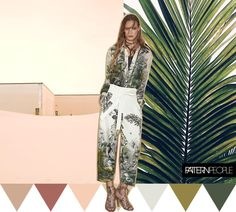 FASHION VIGNETTE: TRENDS // PATTERN PEOPLE - PRINT + COLOR . SS 2018...