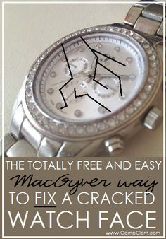 totally free and easy macgyver watch fix