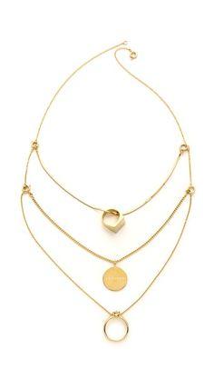 Maison Martin Margiela Multi Layered Necklace